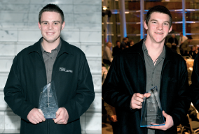 The success of apprentice Challenge winners Cole Jackson 2009 and Daniel Berry 2010 highlight the commitment to quality training